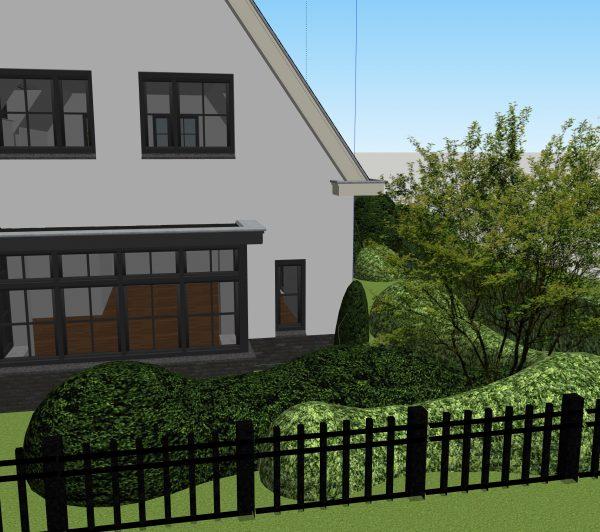 Wij geven u vooraf een goed beeld van uw toekomstige tuin door sfeerimpressies en 3D-tekeningen.